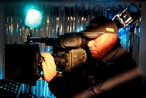 Steve Saunderson with Camera